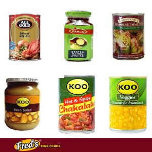 Canned and Bottled Food