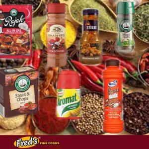 Spices, Dry Sauce Mix, Soups & Gravy